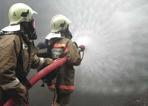 Противопожарные учения «Планета молодых»