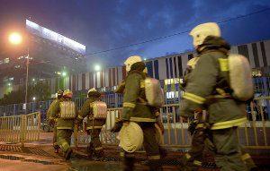 пожар в Останкино