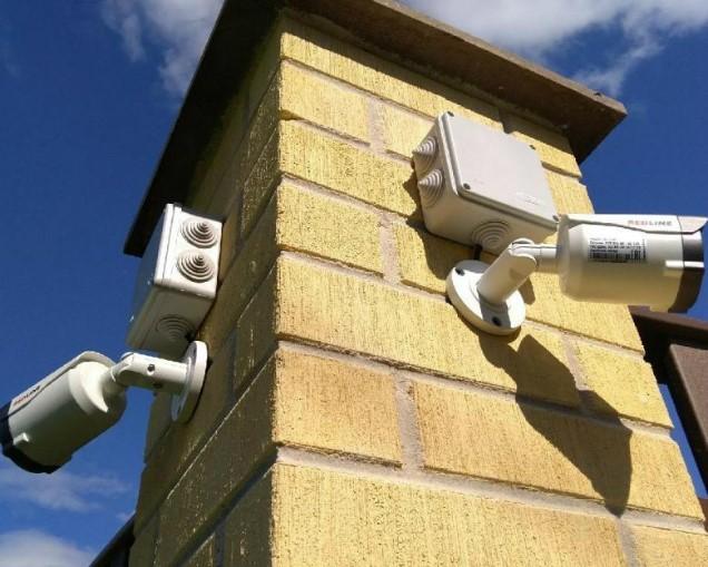 размещение камер видеонаблюдения