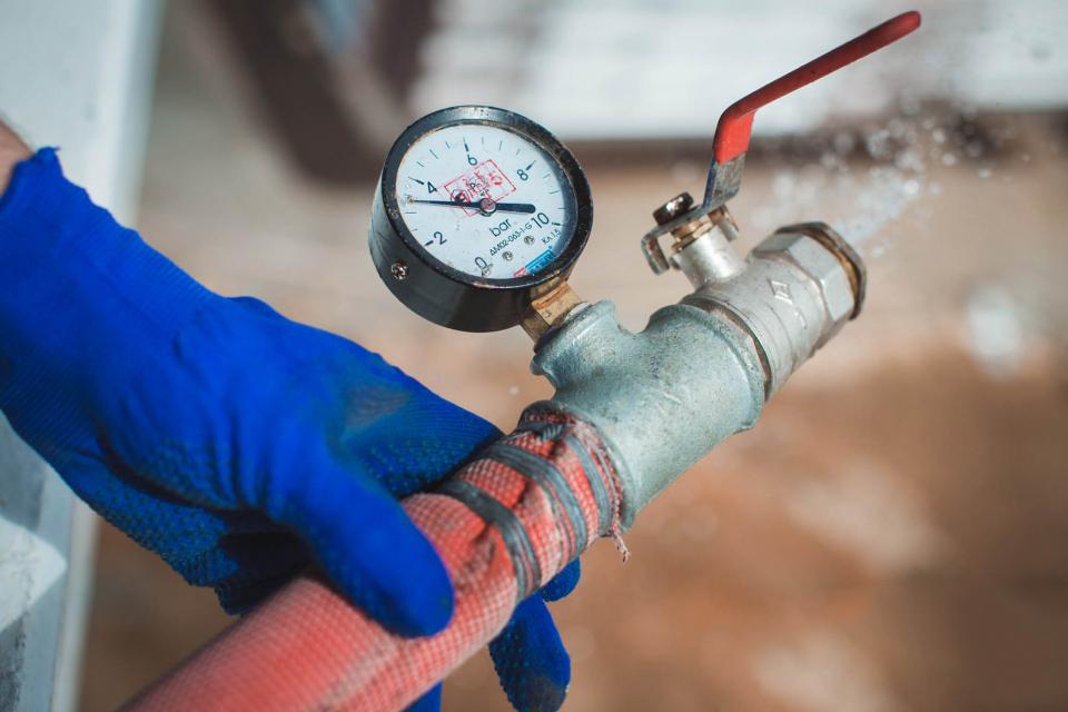 Испытание противопожарного водопровода