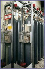 Батареи газового пожаротушения М300
