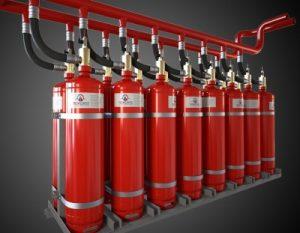 Модули порошкового пожаротушения МПП-100 Лавина