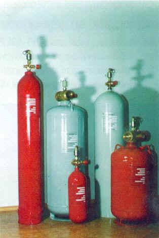 Модули газового пожаротушения МПГ