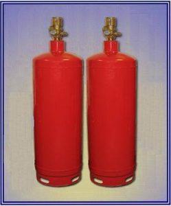 Модули газового пожаротушения МПХ65-50(100)-38